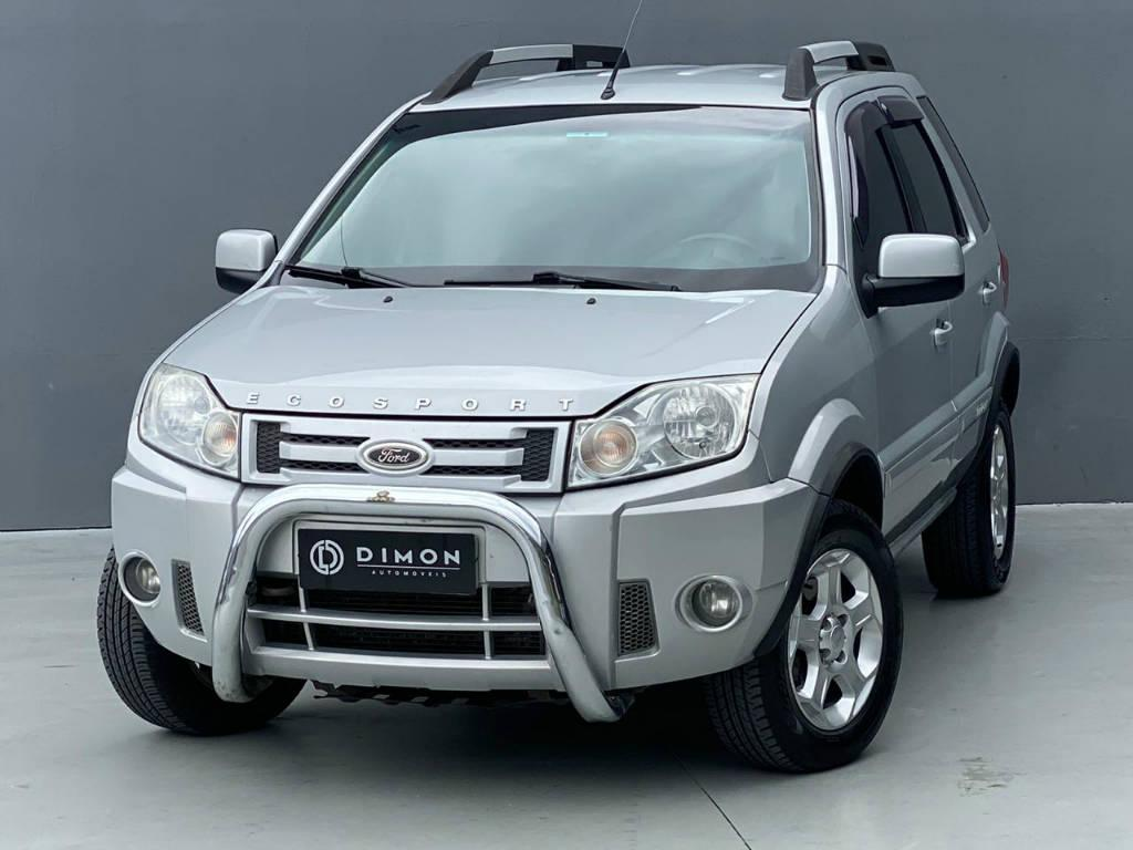 Foto numero 2 do veiculo Ford EcoSport XLT 2.0 AUT GNV - Prata - 2010/2011