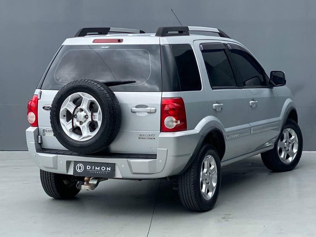 Foto numero 3 do veiculo Ford EcoSport XLT 2.0 AUT GNV - Prata - 2010/2011