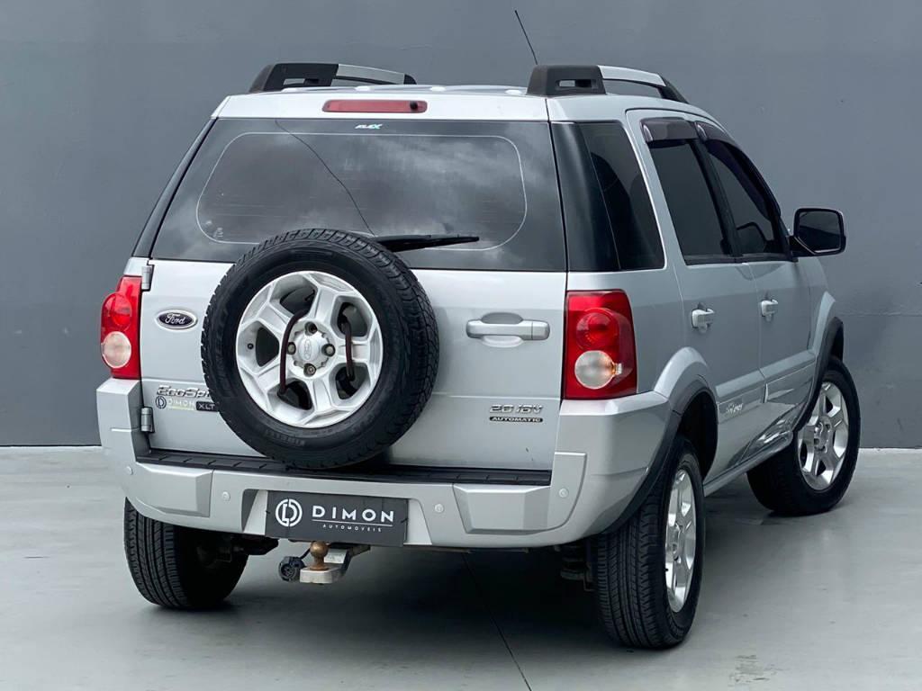 Foto numero 4 do veiculo Ford EcoSport XLT 2.0 AUT GNV - Prata - 2010/2011