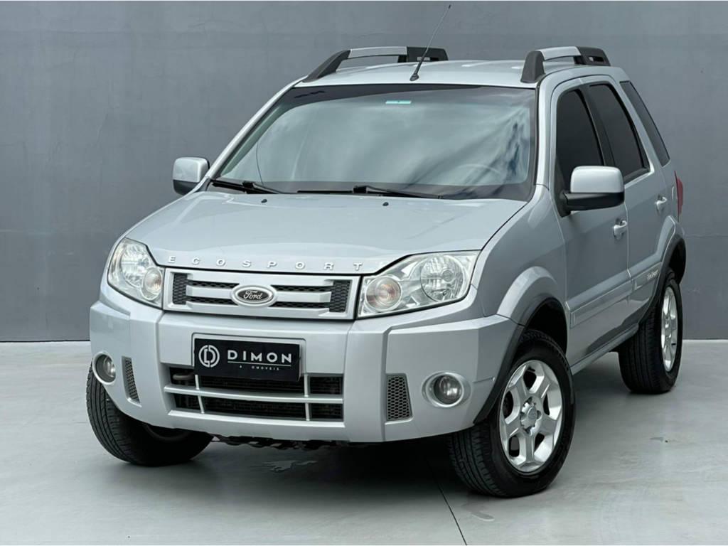 Foto numero 2 do veiculo Ford EcoSport XLT 2.0 AUT - Prata - 2010/2011