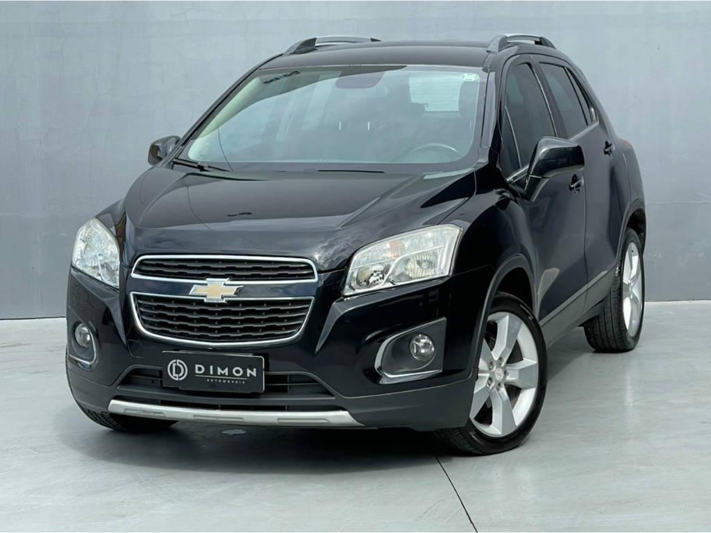 Foto numero 2 do veiculo Chevrolet Tracker LTZ 1.8 AUT - Preta - 2013/2014