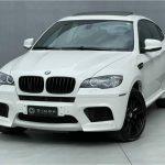 Foto numero 2 do veiculo BMW X6 M 4.4 - 4X4 V8 BI TURBO - Branca - 2011/2011