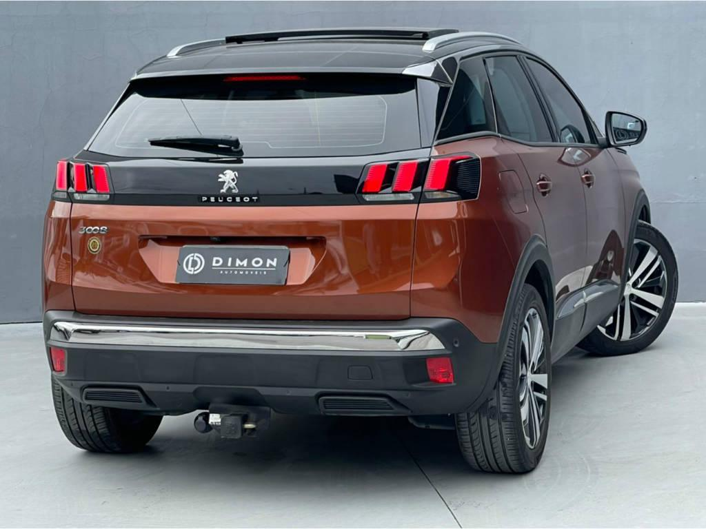 Foto numero 5 do veiculo Peugeot 3008 GRIFFE PACK - Marrom - 2018/2019