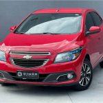 Foto numero 2 do veiculo Chevrolet Onix 1.4 ltz - Vermelha - 2014/2015