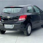 Foto numero 3 do veiculo Chevrolet Onix 1.0 LT - Preta - 2015/2016