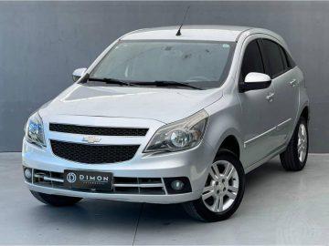 Foto numero 0 do veiculo Chevrolet Agile LTZ 1.4 - Prata - 2013/2013