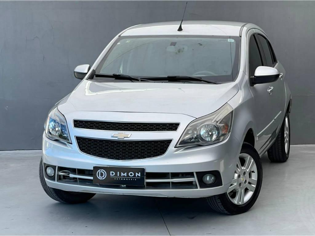 Foto numero 2 do veiculo Chevrolet Agile LTZ 1.4 - Prata - 2013/2013