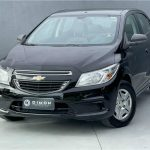 Foto numero 2 do veiculo Chevrolet Onix 1.0 LT - Preta - 2015/2016