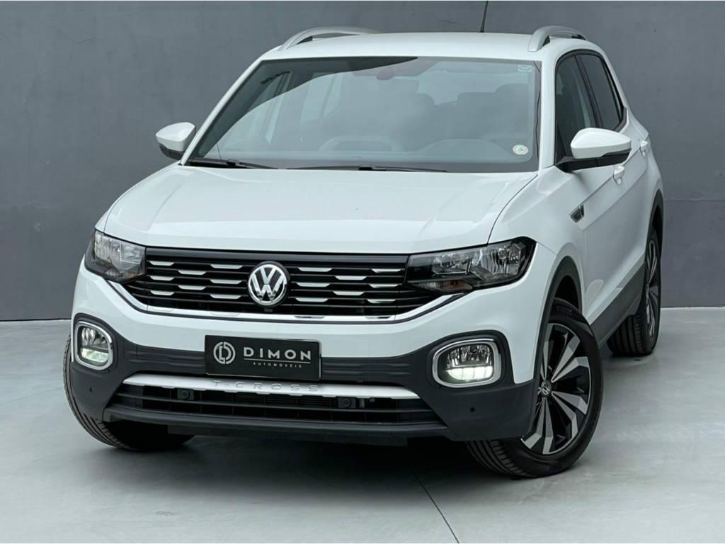 Foto numero 2 do veiculo Volkswagen T-Cross HIGHLINE 1.4 TSI - Branca - 2021/2021