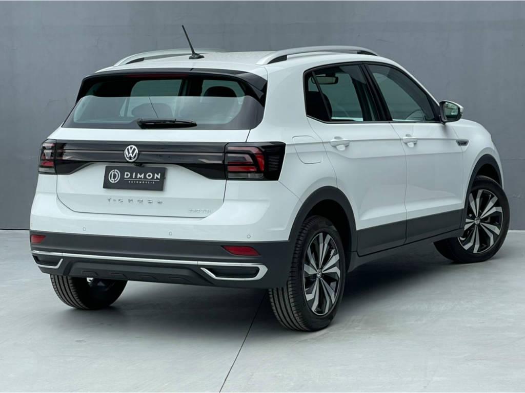 Foto numero 4 do veiculo Volkswagen T-Cross HIGHLINE 1.4 TSI - Branca - 2021/2021